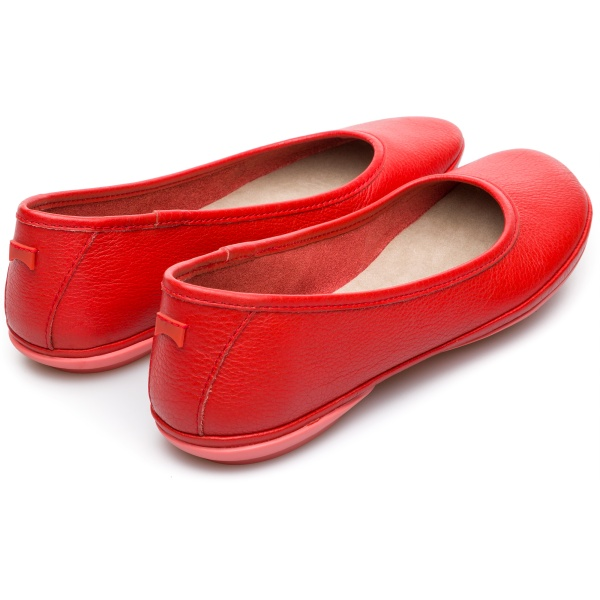 Camper Right Red Ballerinas Women K200387-005
