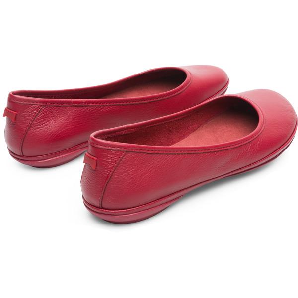 Camper Right Red Ballerinas Women K200387-013