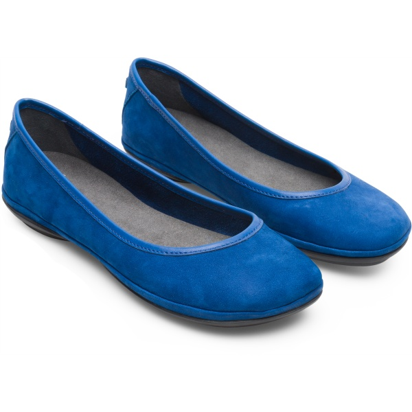 Camper Right Blue Ballerinas Women K200387-014