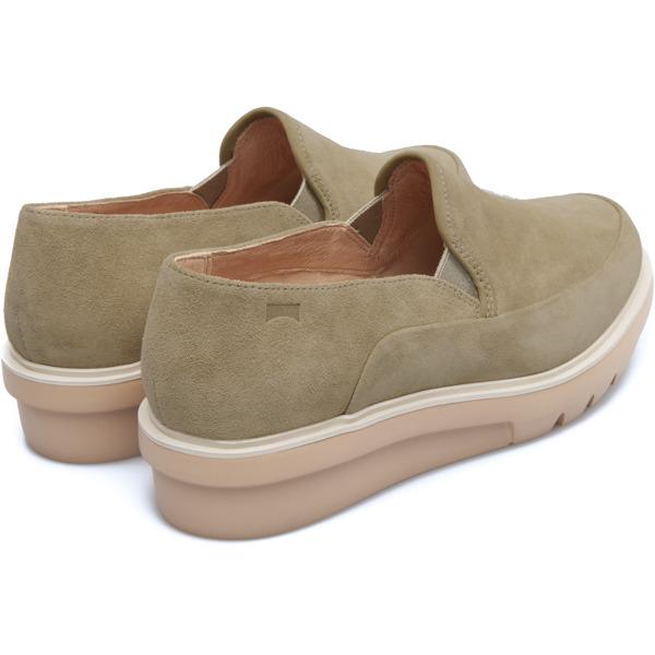 Camper Marta Beige Flat Shoes Women K200395-001