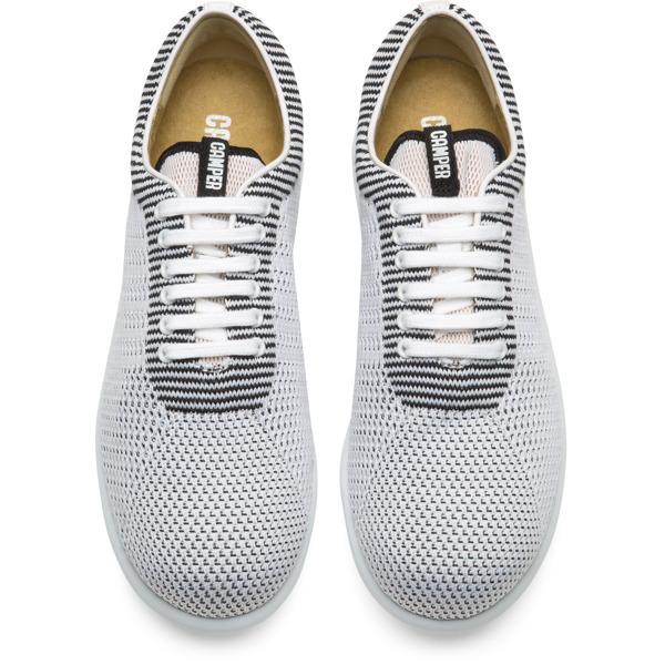 Camper Pelotas XLite White Flat Shoes Women K200456-001