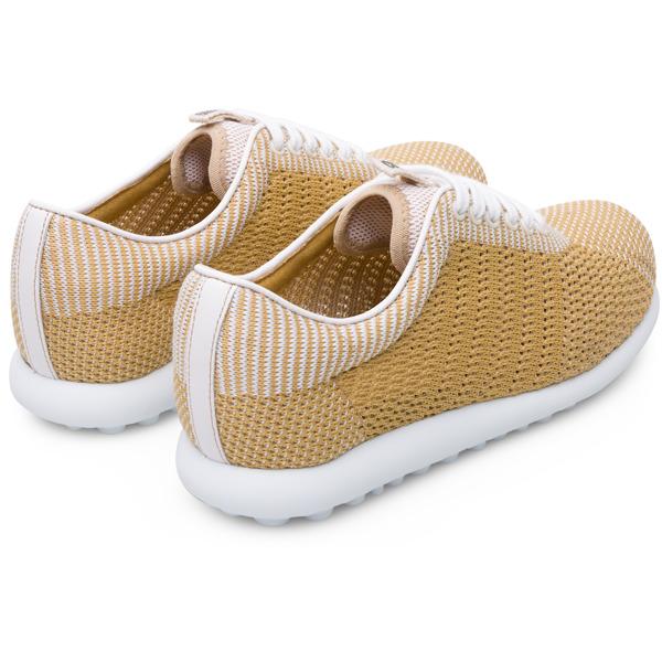Camper Pelotas XLite Beige Flat Shoes Women K200456-004