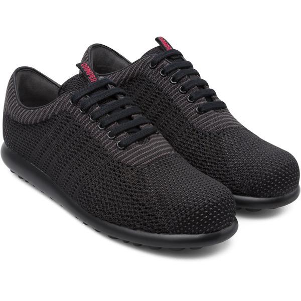 Camper Pelotas XLite Black Flat Shoes Women K200456-005