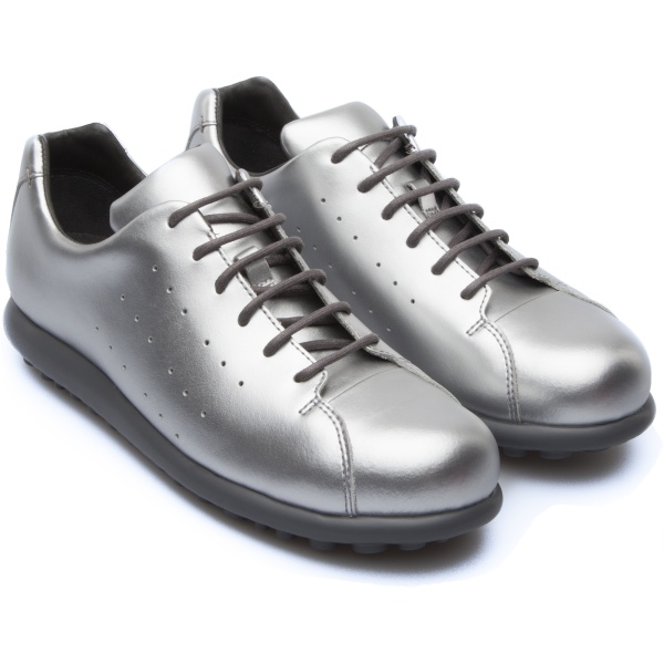 Camper Pelotas XLite Grey Flat Shoes Women K200458-002