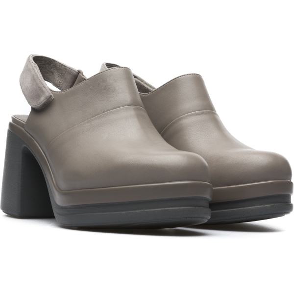 Camper Alice Grey Heels Women K200466-002