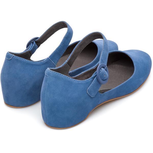 Camper Serena Blue Flat Shoes Women K200491-003