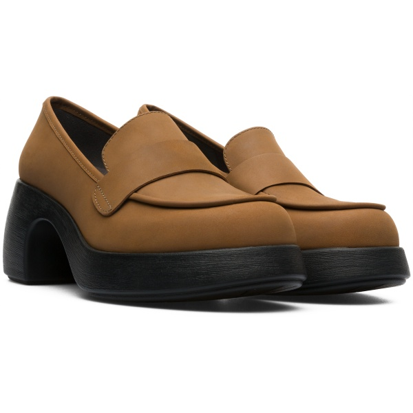Camper Thelma Brown Formal Shoes Women K200494-004