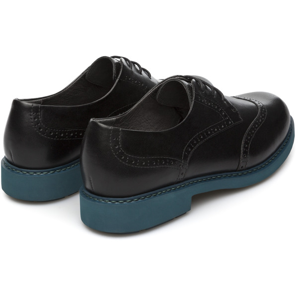 Camper Neuman Black Flat Shoes Women K200513-002