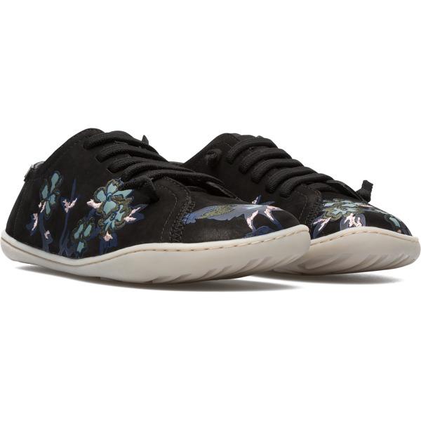 Camper Twins Black Flat Shoes Women K200517-002