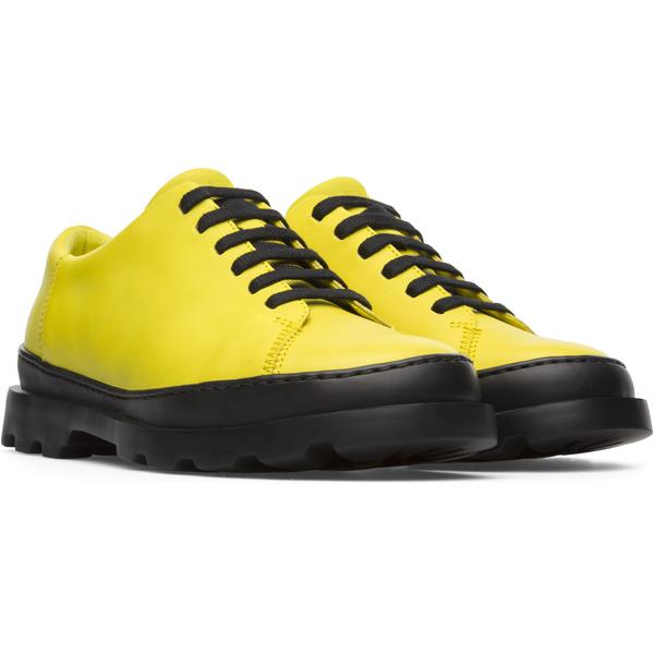Camper Brutus Yellow Formal Shoes Women K200551-014