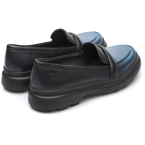 Camper Turtle Blue Flat Shoes Women K200555-001