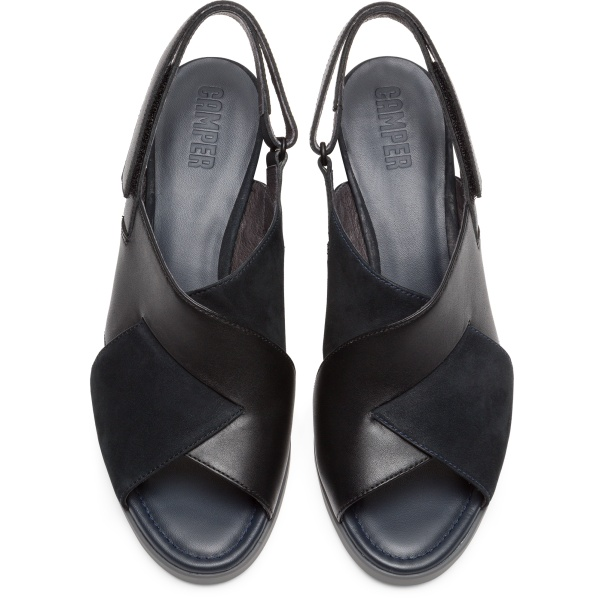 Camper Kara Black Sandals Women K200559-001