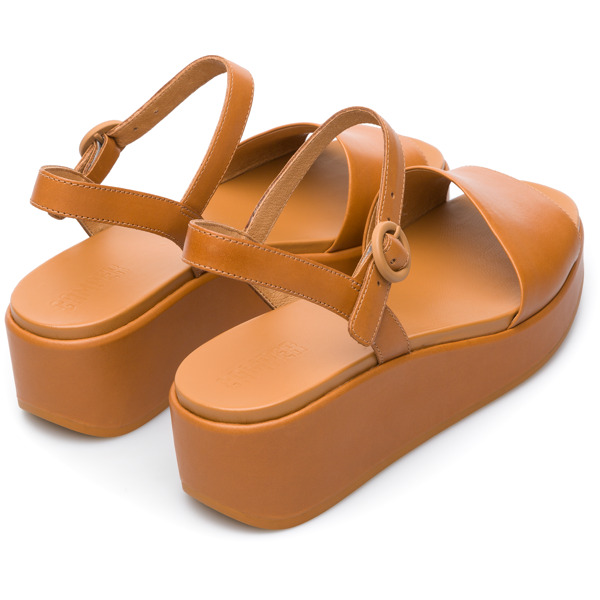 Camper Misia Brown Sandals Women K200564-005