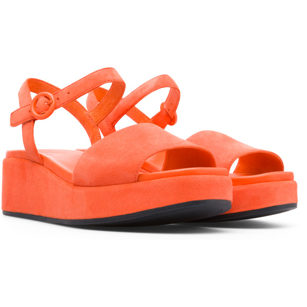 Camper Misia Orange Sandals Women K200564-011