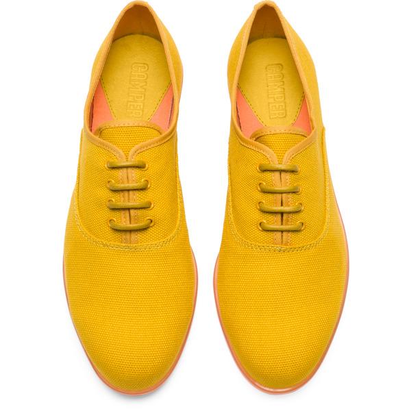 Camper Casi Jazz Yellow Formal Shoes Women K200565-001