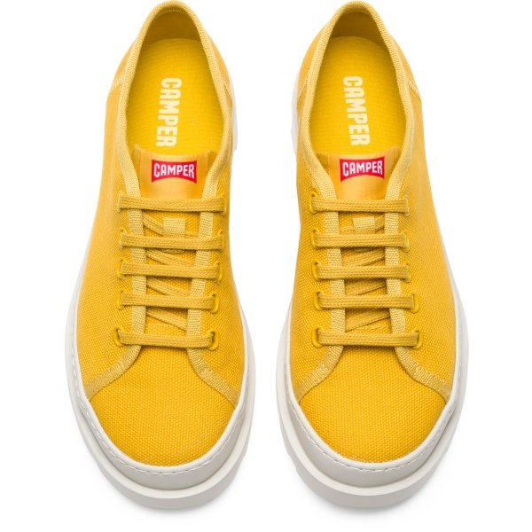 Camper Brutus Yellow Casual Shoes Women K200576-004