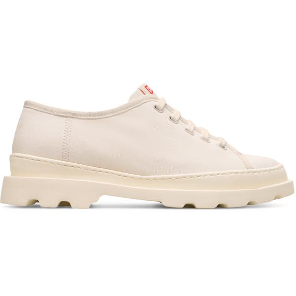 Camper Brutus Beige Formal Shoes Women K200576-011