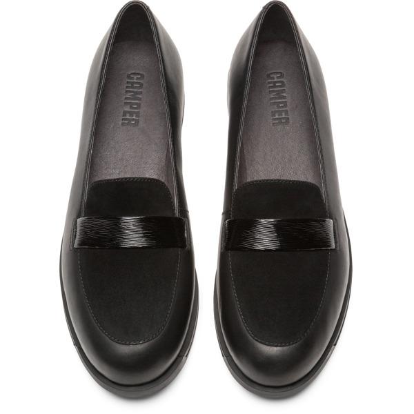 Camper Bowie Black Flat Shoes Women K200602-003