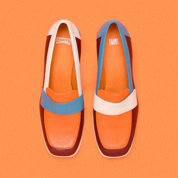 Camper Twins Multicolor Formal Shoes Women K200605-001