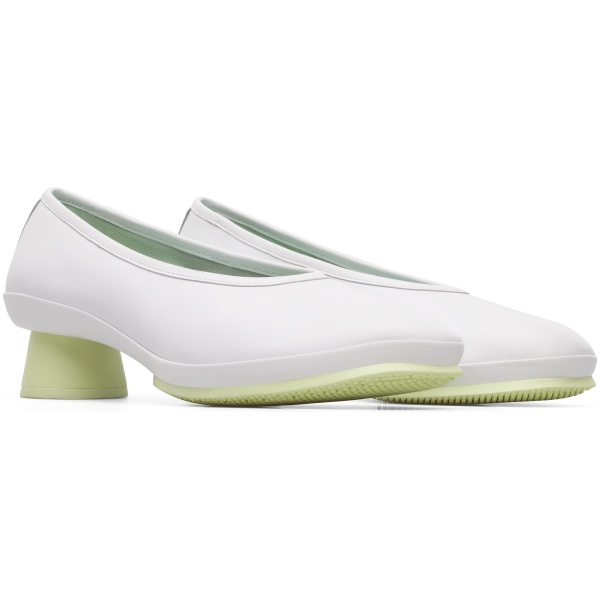 Camper Alright White Heels Women K200607-012