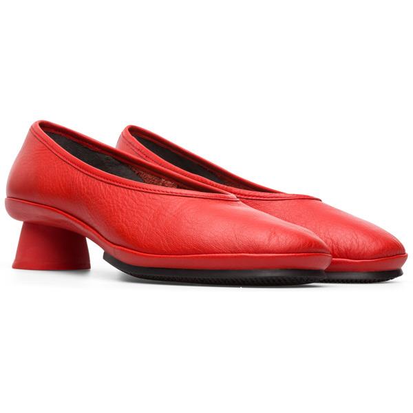 Camper Alright Red Formal Shoes Women K200607-017