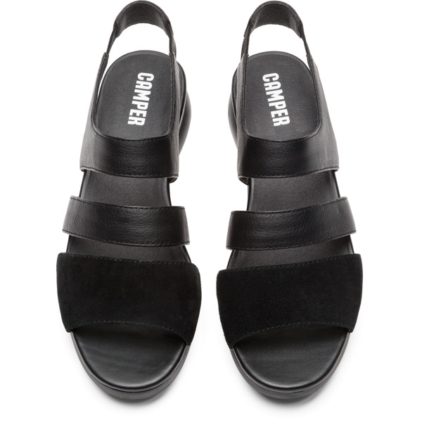 Camper Balloon Black Casual Shoes Women K200611-004