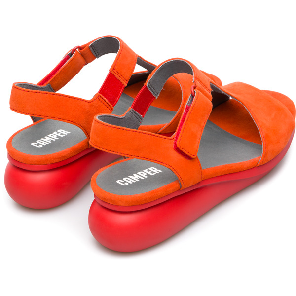 Camper Balloon Red Casual Shoes Women K200612-002