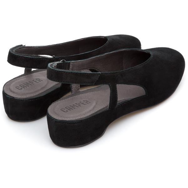 Camper Serena Black Flat Shoes Women K200617-003