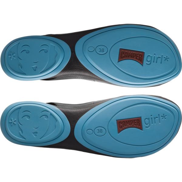 Camper Twins Black Sandals Women K200620-001