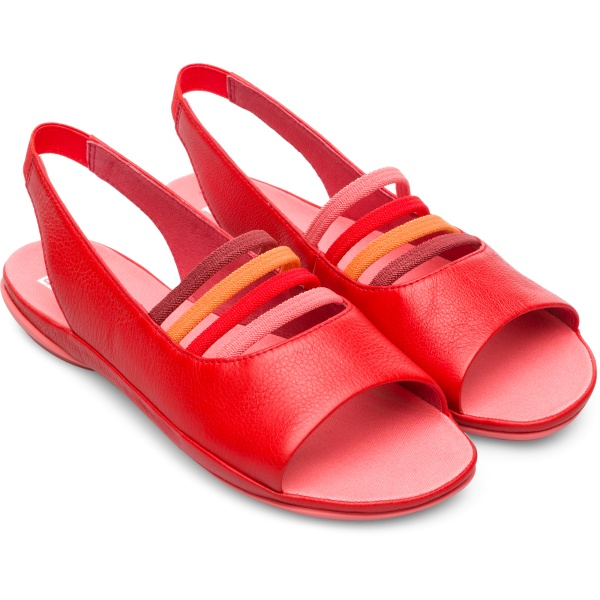 Camper Twins Red Sandals Women K200620-002
