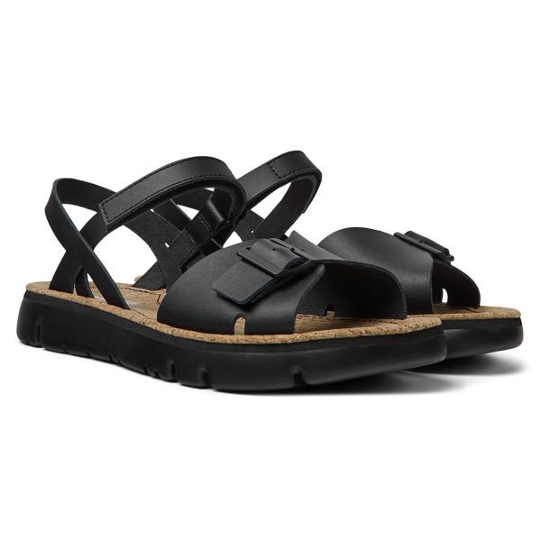 Camper Oruga Black Sandals Women K200631-003
