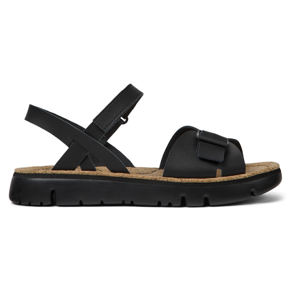 Camper Oruga Black Sandals Women K200631-003