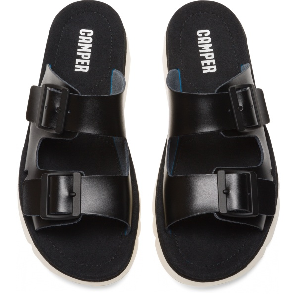 Camper Oruga Black Sandals Women K200633-004