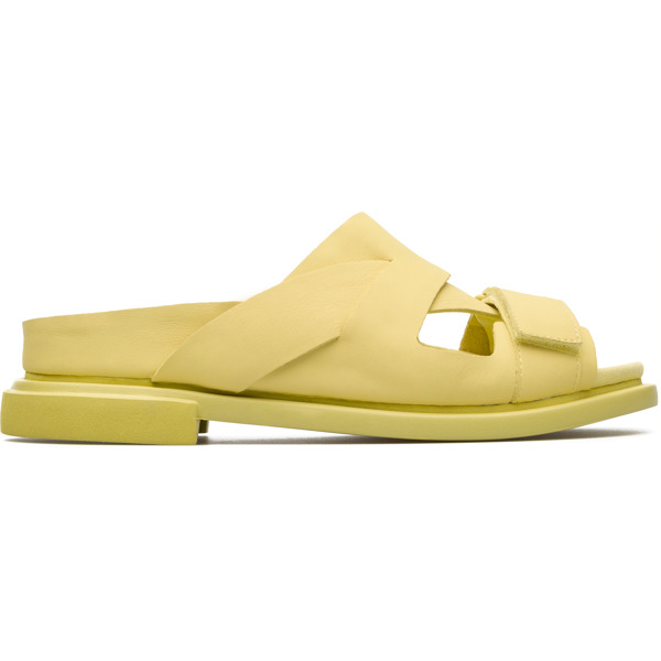 Camper Eda Yellow Formal Shoes Women K200637-004