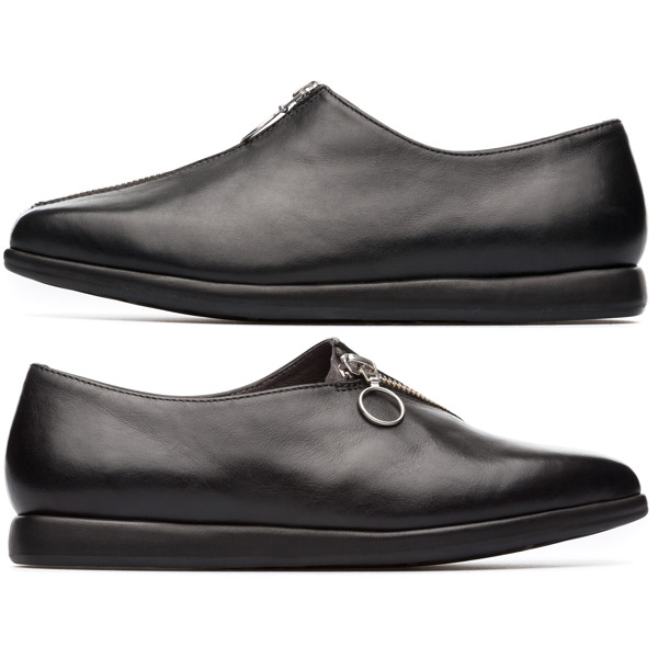Camper Twins Black Flat Shoes Women K200657-002