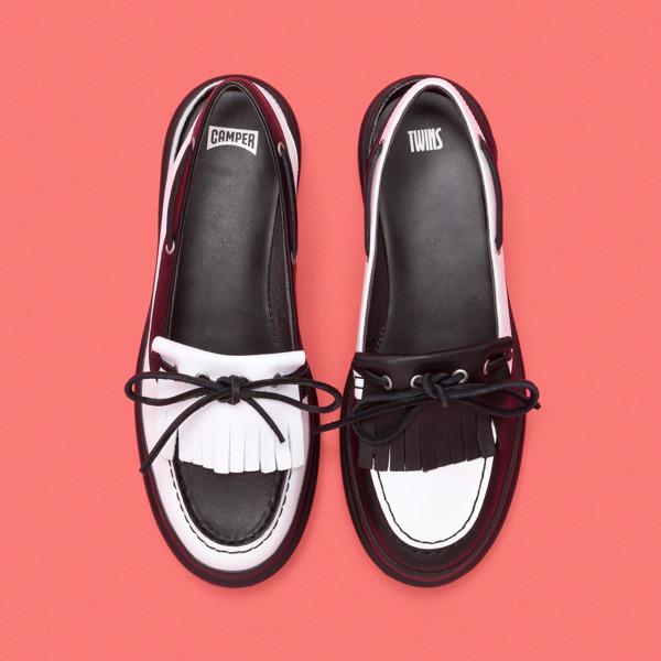 Camper Twins Multicolor Flat Shoes Women K200658-002