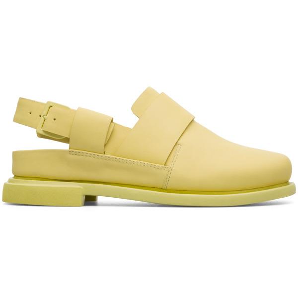 Camper Eda Yellow Formal Shoes Women K200668-007
