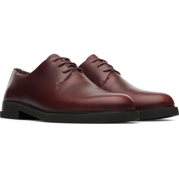 Camper Iman Burgundy Formal Shoes Women K200685-013