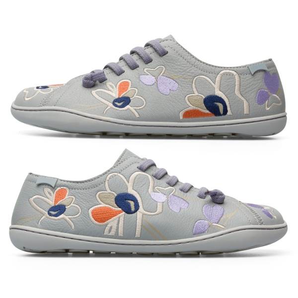 Camper Twins Grey Casual Shoes Women K200733-004