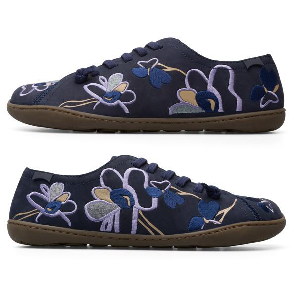 Camper Twins Blue Casual Shoes Women K200733-005