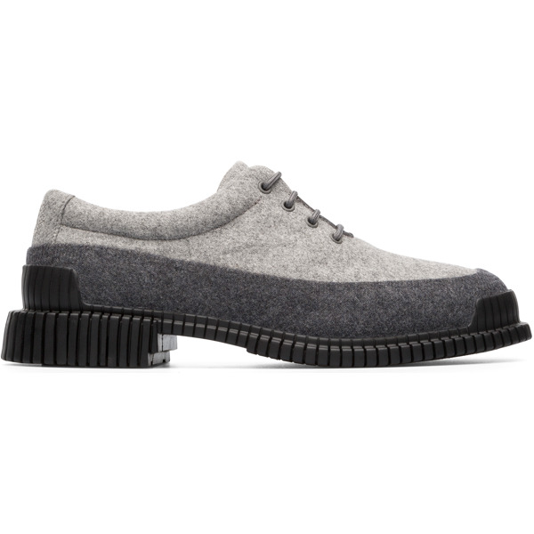 Camper Pix Grey Formal Shoes Women K200743-001