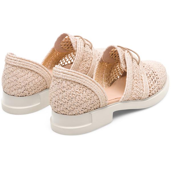 Camper Iman Beige Formal Shoes Women K200755-001