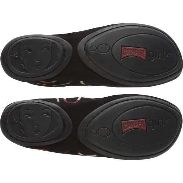 Camper Twins Black Ankle Boots Women K200757-001