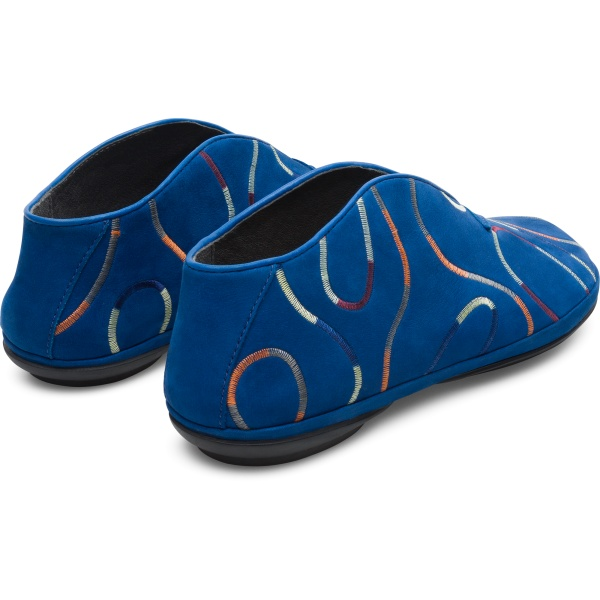Camper Twins Blue Ballerinas Women K200757-003
