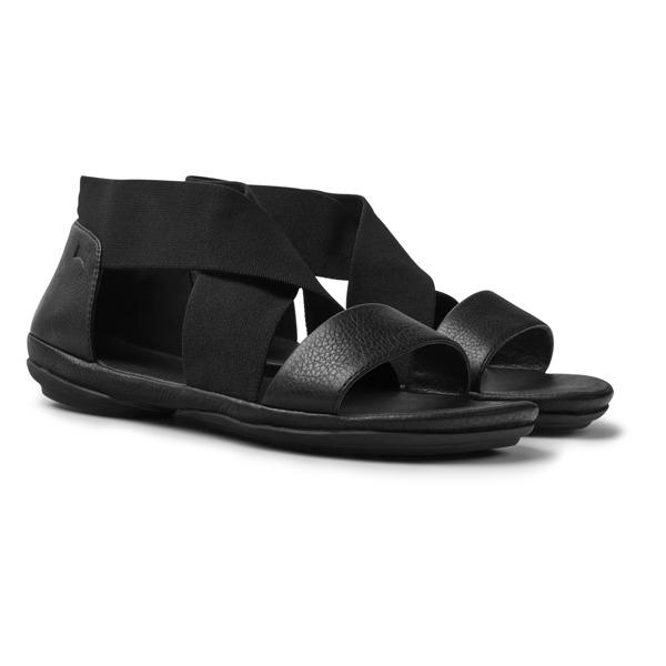Camper Right Black Sandals Women K200759-002