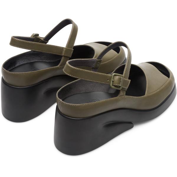 Camper Kaah Green Sandals Women K200766-004