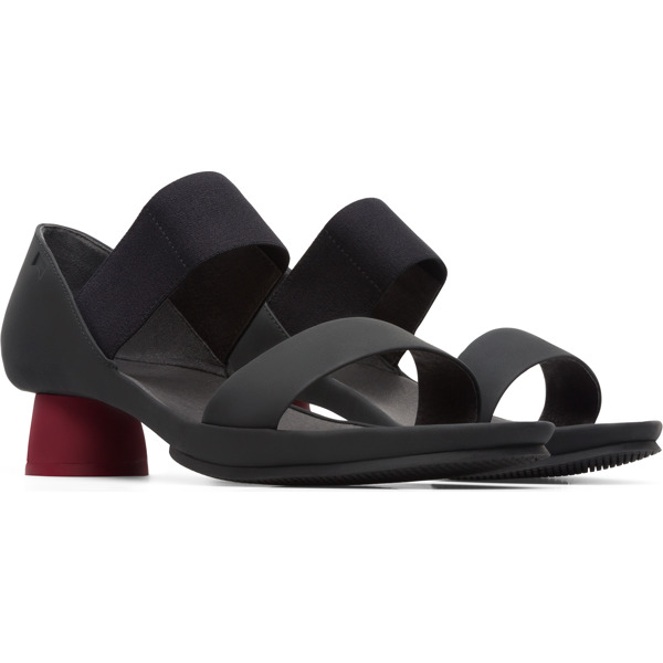 Camper Alright Black Sandals Women K200770-001