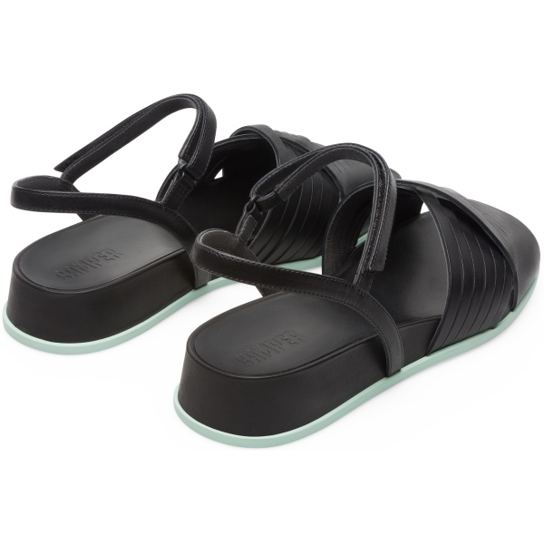 Camper Atonik Black Sandals Women K200788-001