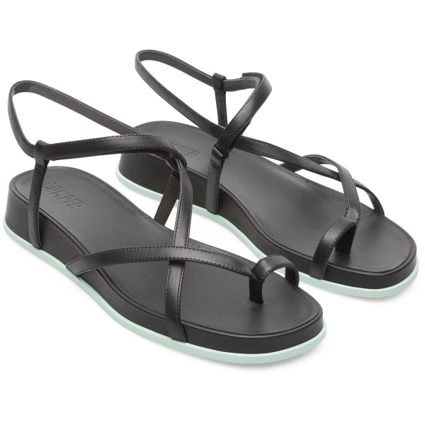 Camper Atonik Black Sandals Women K200789-001