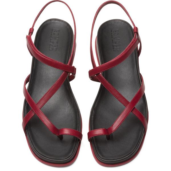 Camper Atonik Red Sandals Women K200789-003